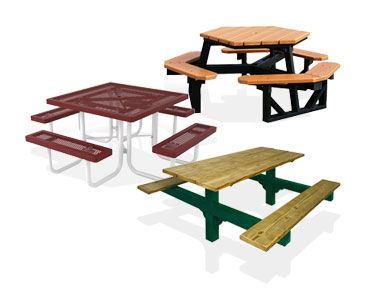 Commercial Outdoor Furniture Picnic Tables Park Benches More