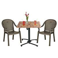 Grosfillex Patio Furniture - Bar Tables & Chairs