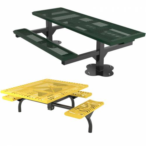 commercial ada accessible picnic tables national outdoor furniture