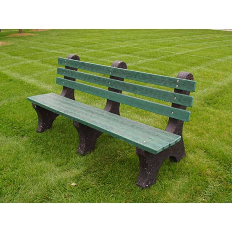 4 6 And 8 Comfort Park Avenue Recycled Plastic Bench
