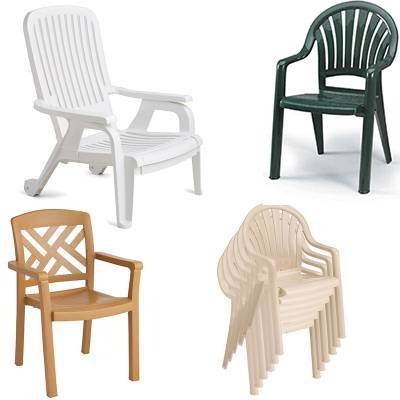 Grosfillex Patio Furniture - Resin Chairs