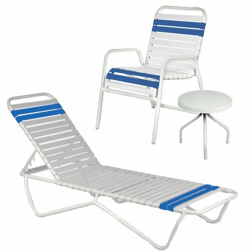 Poolside Furniture - Quick Ship Strap Furniture