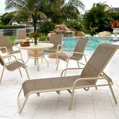 Poolside Furniture   Patio Sling Furniture. Commercial ...