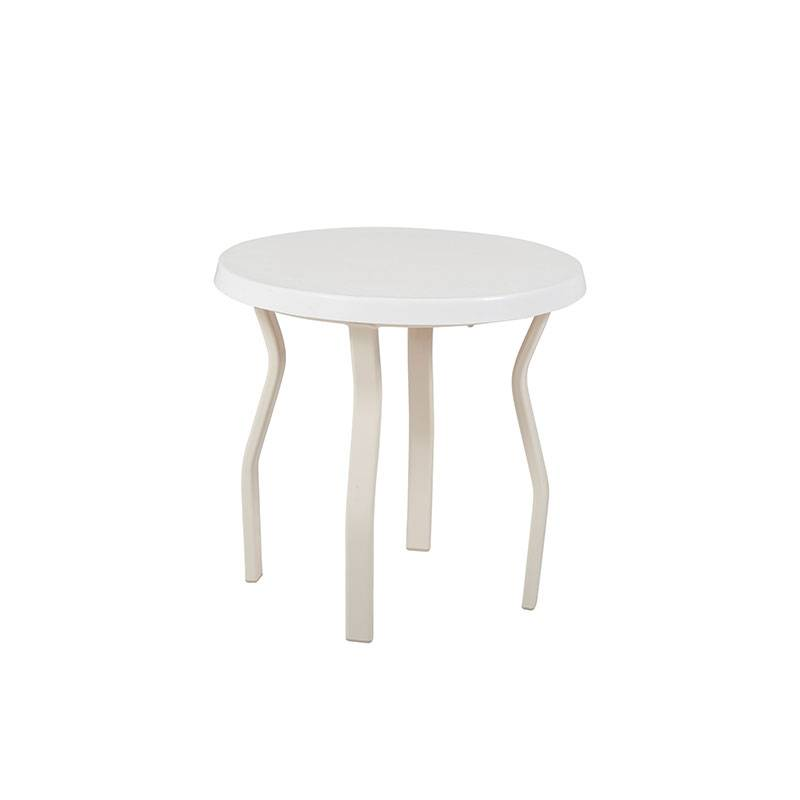 18 Quot 20 Quot And 24 Quot Round Stacking Fiberglass Top Side Table