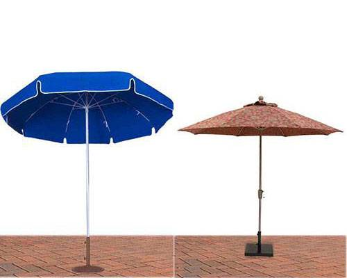 Umbrellas Bases Commercial Outdoor