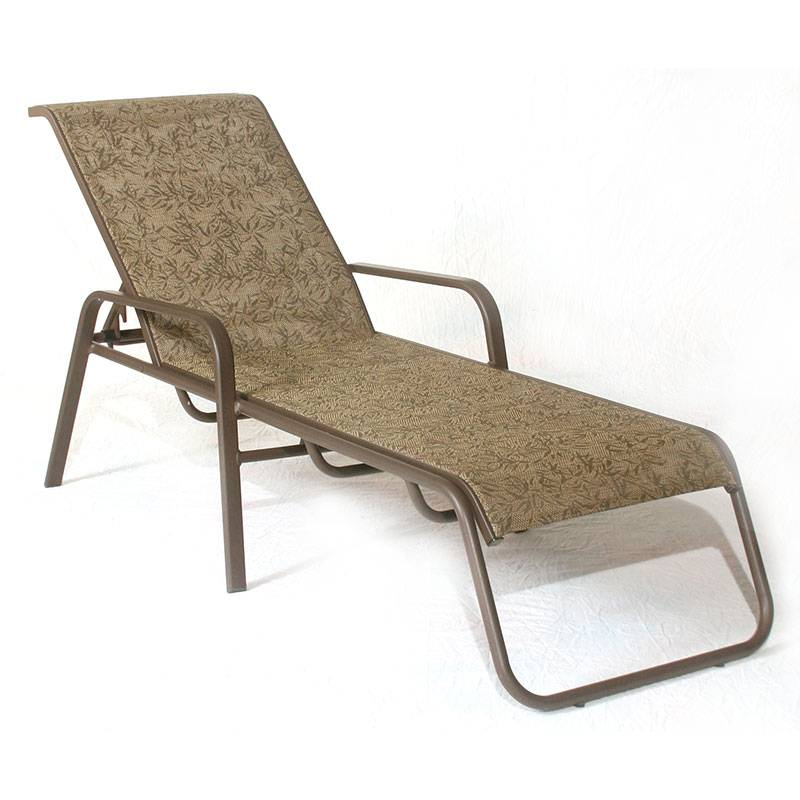 Siesta Sling Stacking Chaise Lounge