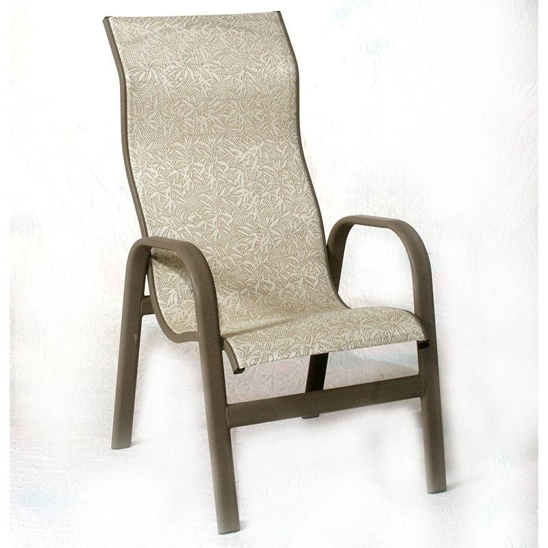 Bonaire High Back Stacking Sling Chair