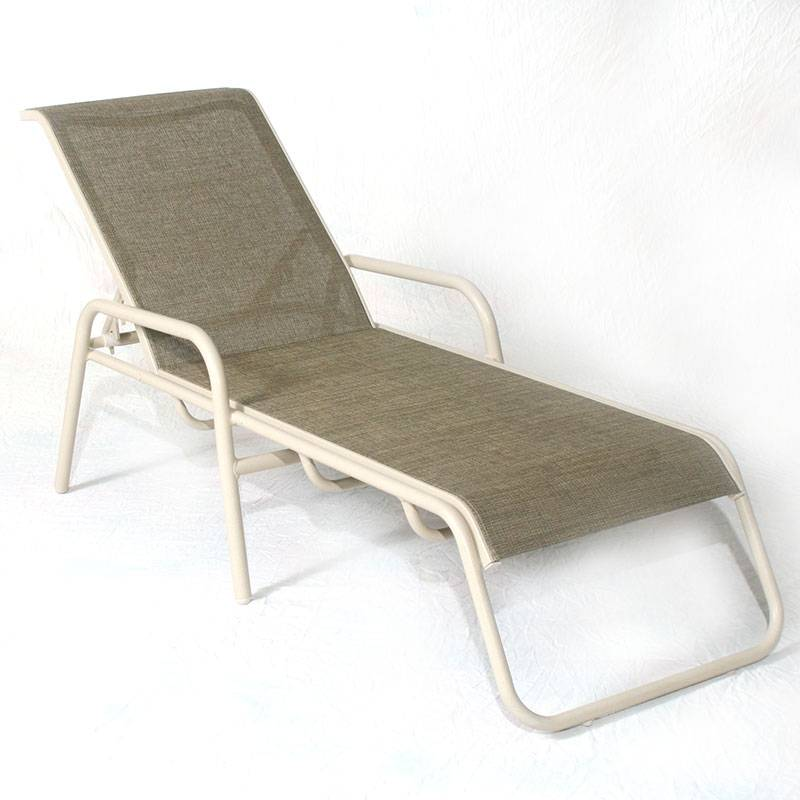 Lido Sling Stacking Chaise Lounge