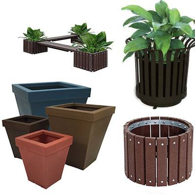 Miscellaneous - Commercial Planters