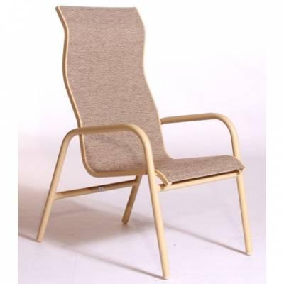 Lido High Back Stacking Sling Chair