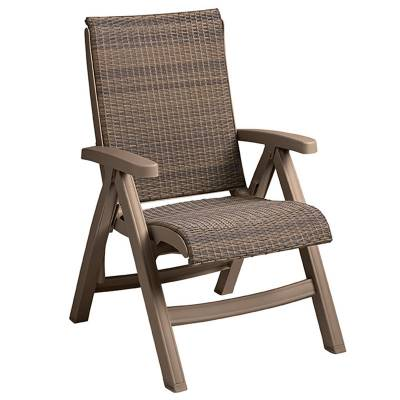 Java Wicker Folding Sling Chair