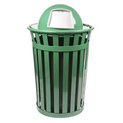 36 Gallon Oakley Slatted Receptacle