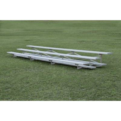 3 Row Low-Rise Aluminum Bleacher