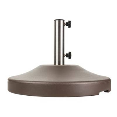 80 and 120 Lb. Round Freestanding Base with Wheels.