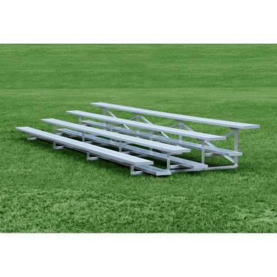 4 Row Low-Rise Aluminum Bleacher