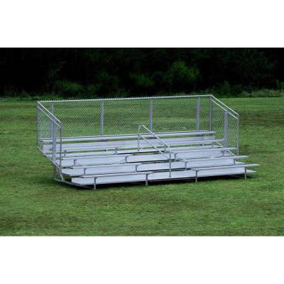 5 Row Non-Elevated Aluminum Bleacher
