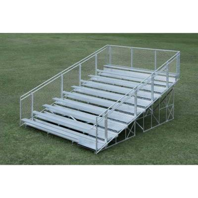 10 Row Non-Elevated Aluminum Bleacher