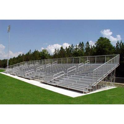 15 Row Non-Elevated Aluminum Bleacher
