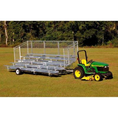 5 Row Transportable Aluminum Bleacher