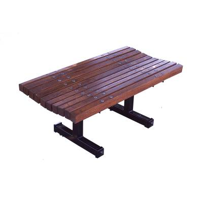 4', 5', 6' and 8' Boulevard Backless Bench - Portable/Inground/Surface Mount.