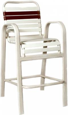 Welded Contract Bonaire Strap Bar Stool