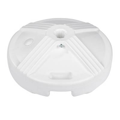 50 Lb. Plastic Covered Cement Filled Base with Handle