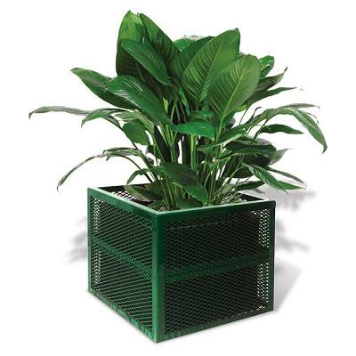 Square Steel Planter - Portable/Surface Mount