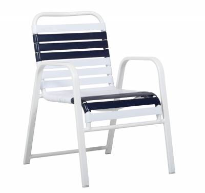 Welded Contract Siesta Stacking Strap Chair