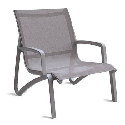Sunset Sling Armless Lounge Chair - Arms sold separately.