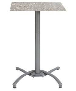 "Grosfillex Patio Furniture - 24"" Square Bar Top Table"