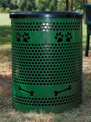 Pet Waste - BarkPark 32 Gallon Trash Receptacle