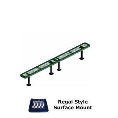 10' and 15' Regal Backless Bench - Portable, Surface and Inground Mount - Image 3