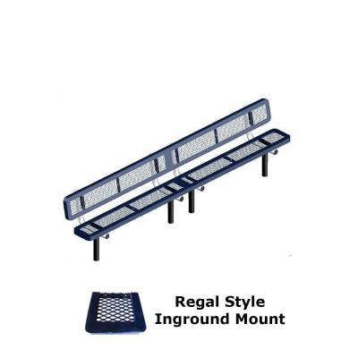 10' and 15' Regal Bench - Portable, Surface and Inground Mount - Image 2