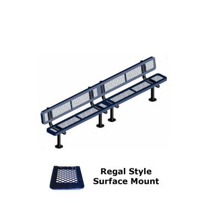 10' and 15' Regal Bench - Portable, Surface and Inground Mount - Image 3