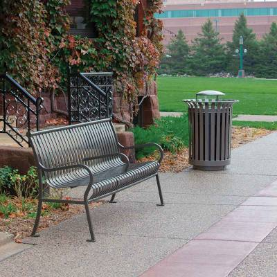 4' and 6' Hamilton Bench - Portable/Surface Mount. - Image 2