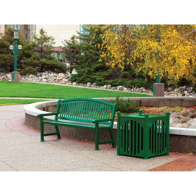 4' and 6' Savannah Bench - Portable/Surface Mount - Image 3