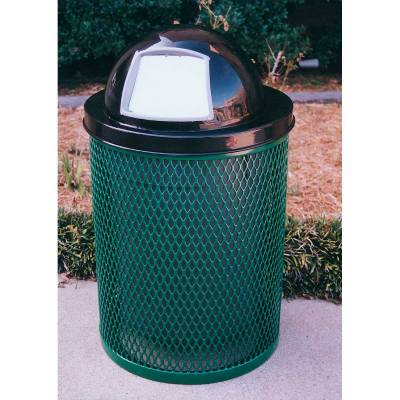 Trash Disposal - Outdoor Trash Receptacles - 32 Gallon Standard Trash Receptacle