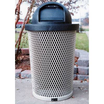 Trash Disposal - Outdoor Trash Receptacles - 32 Gallon Tapered Trash Receptacle