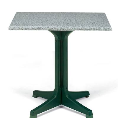 "Grosfillex Patio Furniture - Resin Tables - 24"" x 32"" Rectangular Pedestal Table"