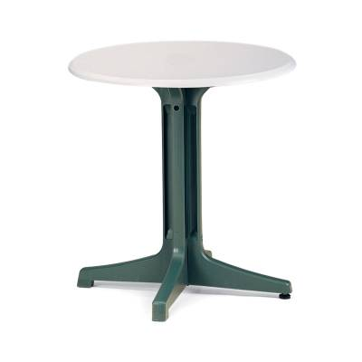 "Grosfillex Patio Furniture - Resin Tables - 30"" Round Pedestal Table"