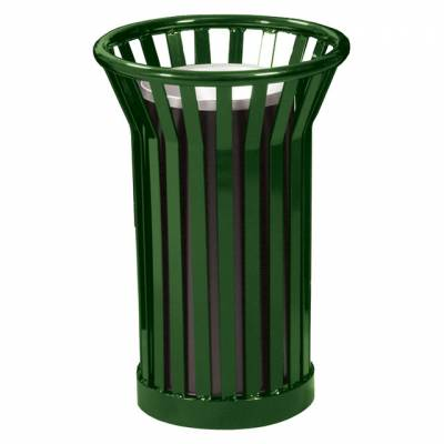 Trash Disposal - Outdoor Ash Receptacles - Wydman Slatted Ash Urn