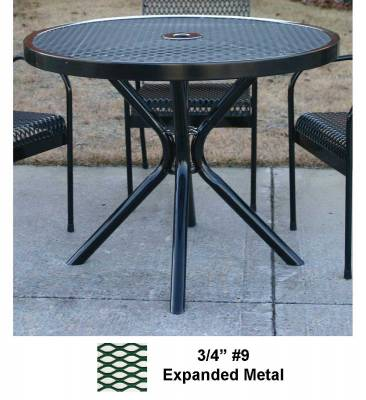 "Picnic Tables - Patio Tables and Seating - 30"" - 48"" Round Cafe Table - Portable"