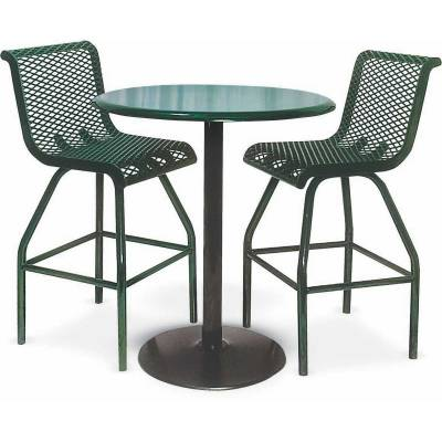 "36"" Round Tall Food Court Table - Image 2"
