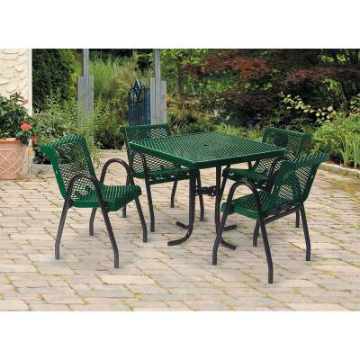 """36"""" Square and Round Food Court Table - Image 2"""