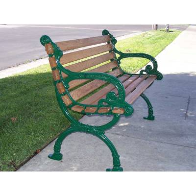 """4', 5' and 80"""" Victorian Bench - Portable/Surface Mount - Image 4"""