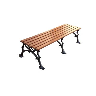 """4', 5' and 80"""" Woodland Backless Bench - Portable/Surface Mount. - Image 2"""