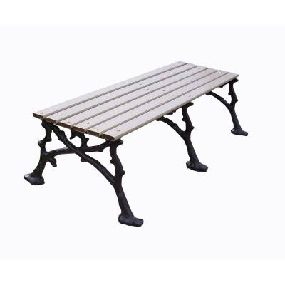 "4', 5' and 80"" Woodland Backless Bench - Portable/Surface Mount. - Image 3"