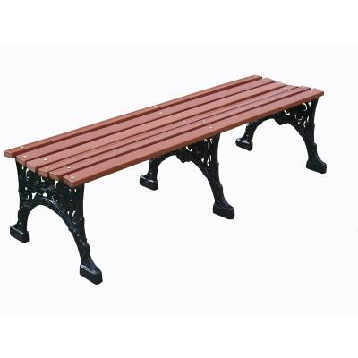 "4', 5' and 80"" Renaissance Backless Bench - Portable/Surface Mount - Image 2"