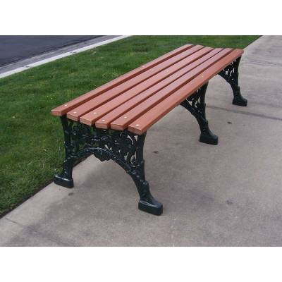 "4', 5' and 80"" Renaissance Backless Bench - Portable/Surface Mount - Image 3"