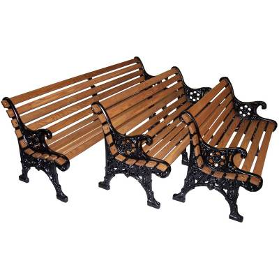 "4', 5' and 80"" Renaissance Bench - Portable/Surface Mount - Image 2"